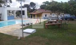 Sitio Amplo 3/4, areá verde, piscina, churrasqueira, em Areia Branca Lauro de Freitas