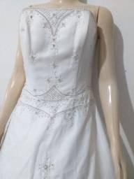 Vestido de Noiva. Usado 2x