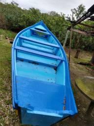 Barco bateira canoa ótima
