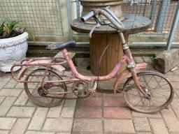 Bicicleta antiga Monareta mirim