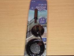 Antena digital esta vem com 4m de cabo abre todas imagens entregamos em Poa-rs