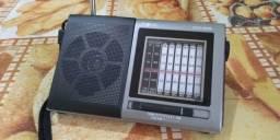 Inova am/fm/sw dispensa pilhas e cabos O melhor radio analógico do mercado atual