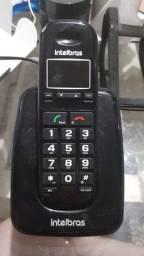 Telefone sem fio Intelbras pouco uso