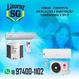Instalação de Ar condicionado split