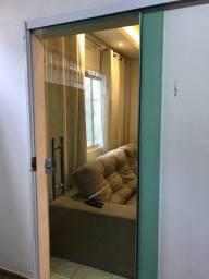 Porta de vidro blindex de correr (210x85)
