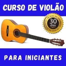 Curso de violão para iniciante - Taxa única! Sem mensalidade!