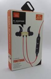 Fone de ouvido sport, conexão bluetooth