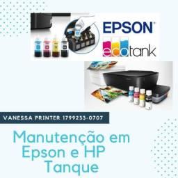 Manutenção em Impressoras Jato Tanque