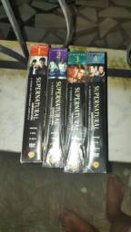 Dvd box Sobrenatural