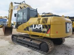Escavadeira CAT 320D 2008