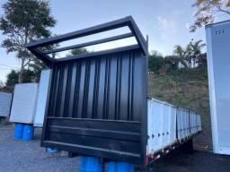 Carroceria de ferro para caminhão 10,00m fs caminhoes