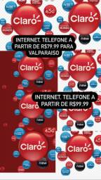 Internet, telefone, tv