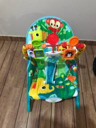 Cadeira de descanso toca música e vibra