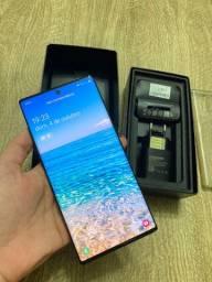 Samsung galaxy note + 10 plus anatel completo na caixa e nota fiscal