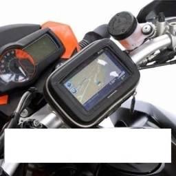 Maior durabilidade Bolsa Prova D'agua Capa Com Suporte P Gps Celular Moto Bike