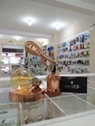Pendente cobre + Lâmpada LED Filamento