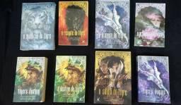 Livros Saga do Tigre Colleen Houck (6 livros) + brindes + envio incluso