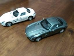 Kinsmart Miniaturas Carros- Lote 02 unidades Mercedes Benz - Ler descricao