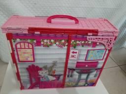 Casa da barbie + teclado da barbie