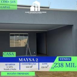 Casa De 3 Quartos - Maysa 2 - Trindade
