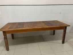 Vendo linda mesa rústica (Madeira Demolição)