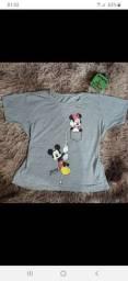 Blusa t shirt com etiqueta