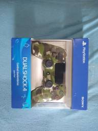 Controle Sony Dualshock 4 green camouflage