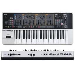 Teclado Sintetizador Roland Sh01 Gaia Com Software Sd-Sh01