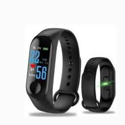Pulseira Inteligente Smartband Monitor Arterial Pressao Fit