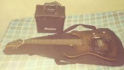Guitarra Memphis, Caixa Sheldon e acessórios