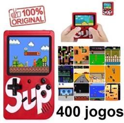 Mini Game Retrô Portatil 400 Jogos Antigos * Promoção Rj
