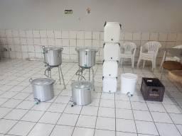 2 Kit produção de cerveja 30 lt
