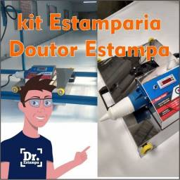 O kit Estamparia estampas especiais Dr Estampa