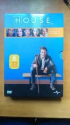 DVD House primeira temporada completa