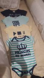 Lotinho menino veste de 6 meses a 1 ano (lagarto)