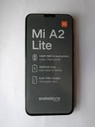 Mi A2 Lite - 64Gb - 4Gb ram - 12 + 5 MP - seminovo - perfeito estado