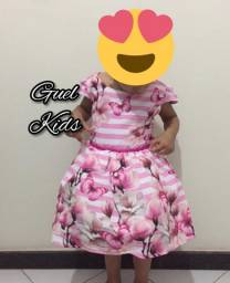 Vestidos Infantis FLORAIS