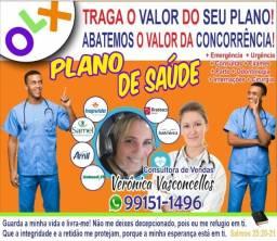 Plano saúde < de alta qualidade > Sem Carência > < Descontos Exclusivos
