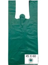 Sacola Plástica Reforçada 1kg | Reciclada | 30x90 A 90x100