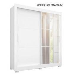 Guarda Roupa Titanium  com Espelhos