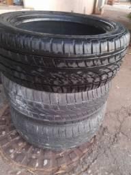 3 pneu 235/50r18 continental estado de novo