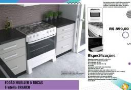 Sábado 02 de Janeiro 2021 - Fogão - 5 Bocas - Fratlla