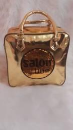 Bolsa Quadrada Salon Line Brilhante ORIGINAL