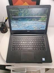 Título do anúncio: Notebook dell i3 6th geração 4gb ddr4 500gb HD armazenamento