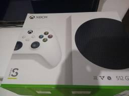 Xbox Series S na caixa com garantia