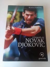 Livro A biografia de Novak Djokovic em Perfeito estado