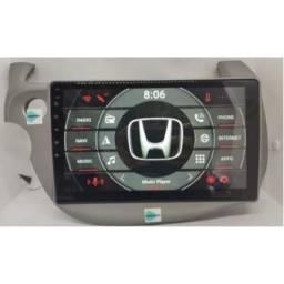 Central multimídia Honda Fit