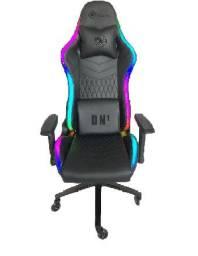 Cadeira gamer dn1 rgb preta draxen