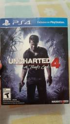 UNCHARTED 4 + TOM CLANCY,S PS4