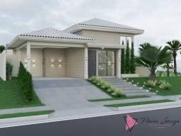 Título do anúncio: Casa Térrea em construção no Florais Itália com 3 suítes próximo ao Parque Tia Nair